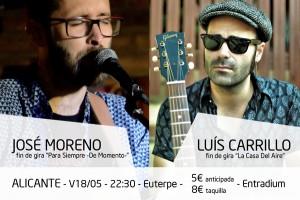 """Despedida """"Para Siempre - De Momento"""" con Luís Carrillo"""